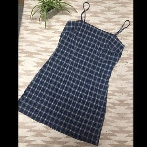 Dresses & Skirts - Plaid Mini Dress